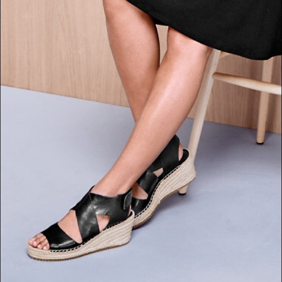 96356e8031d Eileen Fisher Shoes - Eileen Fisher Willow Wedge Sandals